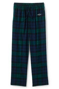 a601d583ffd09 Lands End Men Flannel Pj Pants-tartan-  26.97 on sale Mens Flannel Pajamas
