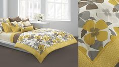 DKNY Modern Pansy Bedding - Textile Blog - | Trends | Style | Innovation | Technology | Textilepedia - The Textile Encyclopedia