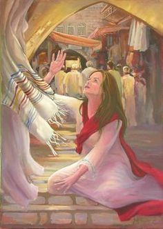 I KNOW that if I could just touch the hem of HIS garment I will be healed