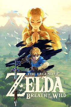 The Legend of Zelda : Breath of the Wild - White Logo variation 3 | #BotW #NintendoSwitch #WiiU