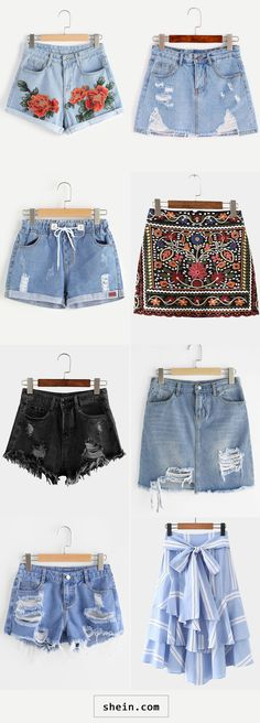 Shorts & Skirts start at $7!