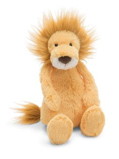 Jellycat Bashful Lion stuffed animal | buy at Cow and Lizard