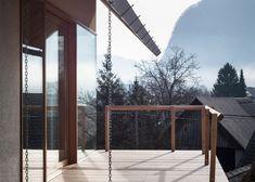 Skupaj Arhitekti Designs an Alpine Village Home with a Contemporary Twist in Slovenia