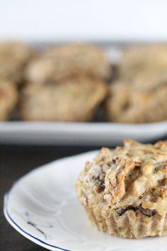 Diese Muffins mit Banane und Erdnussbutter gibt es heute zum Frühstück. Lecker! #meinwunderbaresfrühstück