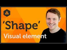 'Shape' Visual element of Graphic Design / Design theory Ep4/45 [Beginners guide to Graphic Design] - YouTube