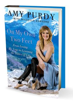 After losing her legs below the knee at 19 to bacterial meningitis and then needing a kidney transplant, Amy Purdy went on to win snowboarding medals, meet Madonna, and place second on Dancing with the Stars. Her riveting memoir, On My Own Two Feet, is shot through with honesty, compassion, a sunny steeliness, and, above all, a sense of humor.