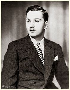 H.M. King Farouk I Of Egypt In 1937