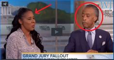 Eric Garner's Wife Denounces Black-White Animosity.  Don't you just love it when Sharpton gets left with egg on his face!