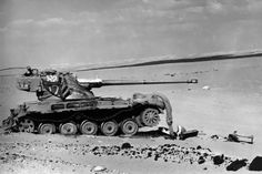 """bmashina: """"AMX-13 during the Six Day War in the Middle East. """""""