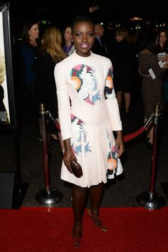 Let's hope that Lupita Nyong´o wins an Oscar for the movie 12 Years a Slave....