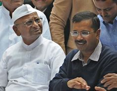"""Anna Hazare 'saddened' that Kejriwal's colleagues have gone to jail:- Anna Hazare has said he is """"very saddened to see"""" that some of Delhi Chief Minister Arvind Kejriwal's colleagues have gone to jail, while some others are """"indulging in fraud"""".""""I am very hurt…When he (Kejriwal) was with me, he wrote a book on gram swaraj…Will we call this gram swaraj? That's why I am very sad. The hope with which I was looking at him (Kejriwal) is over,"""" he said."""