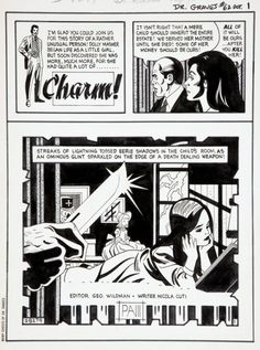 Original splash pages by Pete Morisi from various Charlton. Original splash pages by Pete Morisi from various Charlton Comics books (Scary Tales Dr. Scary Comics, Charlton Comics, Scary Tales, Comic Book Panels, Bristol Board, Splash Page, Squad, Little Girls, Horror