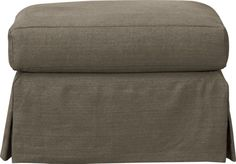 Haven Ottoman  | Crate and Barrel