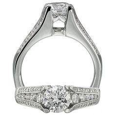 Ritani 1R2127CR Engagement Ring  $5325