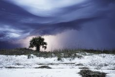 """Lightning Storm"" by Anna Ross @ Hilton Head, South Carolina,  USA - The coast in the midst of a storm."