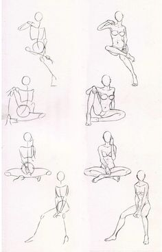 Sketches 29 - Woman sitting practice by Azizla on DeviantArt