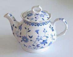 Vintage Sadler Teapot Bristol Blue by TheWhistlingMan on Etsy, £22.50