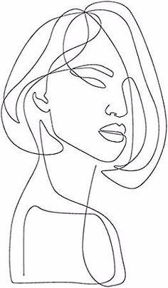 """Feminine"" by Explicit Design - Art Sketches, Art Drawings, Vintage Rosen, Newspaper Art, Stencil Art, Texture Art, Minimalist Art, Art Sketchbook, Illustration"