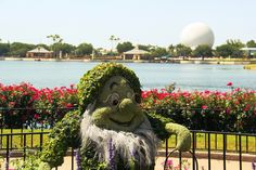 Shrub Characters at Epcot - Orlando, Florida