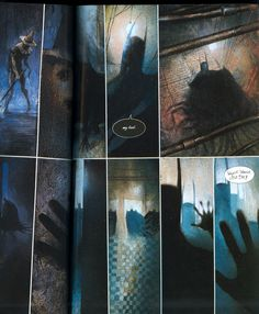 Arkham Asylum, Dave McKean
