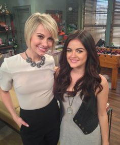 Chelsea Kane and Lucy Hale