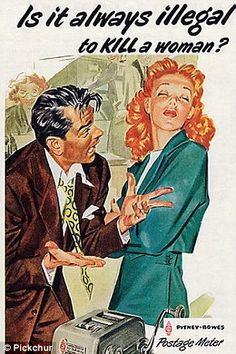 Take a look at these horrendously sexist vintage ads http://dailym.ai/1jRmhup