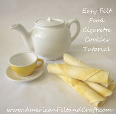 Felt Food Cookies Tutorial