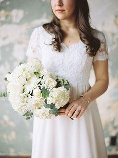 Urban Heirloom Wedding | JoPhoto on @glamourandgrace via @aislesociety