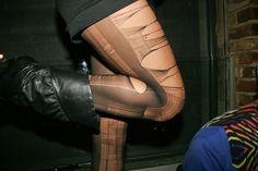 #ripped #tights #biker #boots #tanned