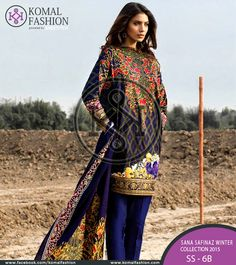 These beautifully embroidered dresses are available with the discount prices. These dresses are available with the discount rates on our online clothing store.  PKR: 5950 / USD: $60 Place your order ☛ {+92-322-3504542} #SanaSafinaz #Winterdress #Stylishdress #Womenfashion