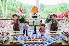 Tema de festa: Arraial - Crescer | Festa de aniversário