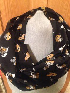 Black Purdue Infinity scarf on Etsy, $22.00