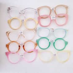 all kinds of glasses