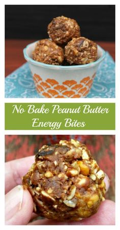 Looking for a snack packed with protein and flavor but not sugar? My -No Bake Peanut Butter Energy Bites