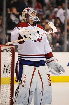 Carey Price Hockey Goalie, Of Montreal, Montreal Canadiens, Nhl, Red White Blue