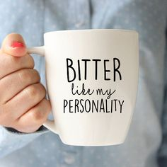 Funny Quote Ceramic Mug, Quote Mug, Coffee Lover, Coffee Cup, Coffee Mug Telling it like it is, one mug at a time. Mugs are made for Righties but