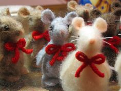 Cute little Christmas Mice