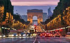 Paris, uma delicia para caminhar