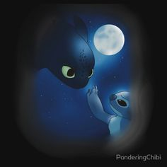 Stitch & toothless