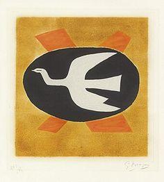 """L'oiseau de feu (Oiseau XIII)"", Georges Braque"
