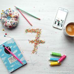 #blogbirthday #birthday #sieben #seven #blog #waseigenes