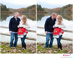 Waiting for Cameron | Hudson Maternity Photography | Fall Maternity Session | Chicago Blackhawks jersey