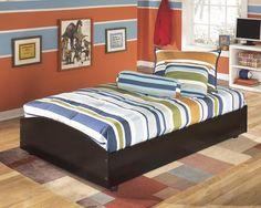 Embrace Kids Twin Loft Caster Bed