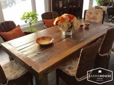 HARVEST TABLES, Made With Century Old, Northern Ont. Barnboard Ottawa Ottawa / Gatineau Area image 1