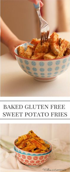 Delicious over baked and gluten free sweet potato fries for fussy eaters