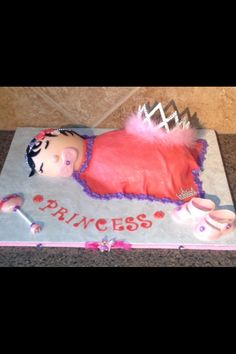Princess Cake baby shower ;)