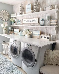 110 a dream laundry room makeover 117 Laundry Room Remodel, Laundry Room Organization, Laundry Room Design, Laundry Rooms, Storage Organization, Laundry Room Sayings, Laundry Area, Storage Ideas, Laundry Room Inspiration