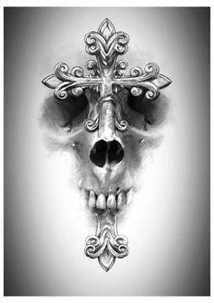 Golgotha... A place of a skull <3