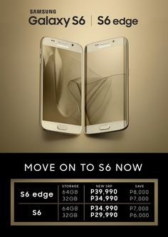 Unleash the stylista in you with the Samsung Galaxy S6 and S6 edge at up to P8,000.00 OFF! (Limited Offer) Why wait? #MoveOnToS6 now! Click on this Offer on: http://savenearn.com.ph/?s=samsung+galaxy+s6&product_cat&post_type=product  #SamsungS6 #savenearnwireless.