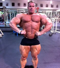 Muscle God: Jay Cutler : Photo